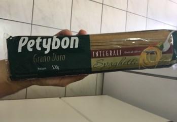 Macarrão Spaghetti Integral Grano Duro Petybon