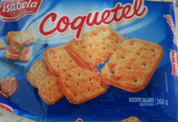Biscoito Salgado Coquetel Isabela