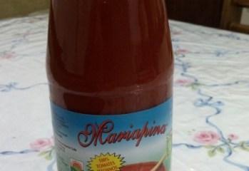 Polpa de Tomates Organicos Mariapina