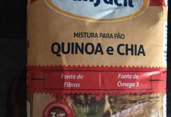 Mistura para Pão Quinoa e Chia Panfácil