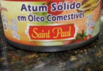 Atum Solido em Oleo Comestivel Saint Paul