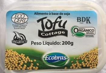 Tofu Cottage Organico Ecobras