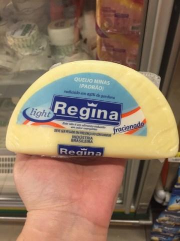 Queijo Minas Padrao Fracionado Light Regina