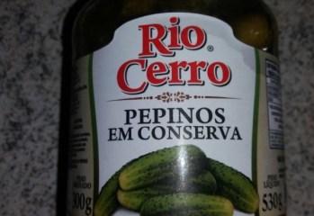 Pepinos em Conserva Rio Cerro