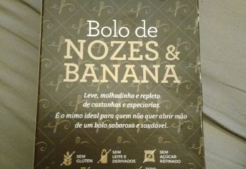 Bolo de Nozes & Banana Bianca Simões