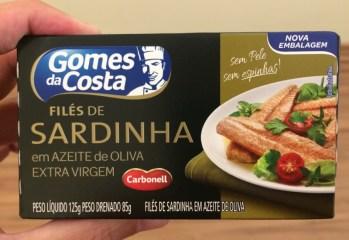 Files de Sardinha em Azeite de Oliva Gomes da Costa