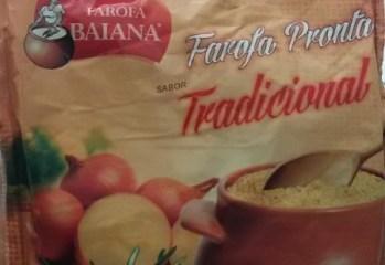 Farofa Pronta Sabor Tradicional Farofa Baiana