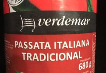 Polpa de Tomate Passata Italiana Tradicional Verdemar