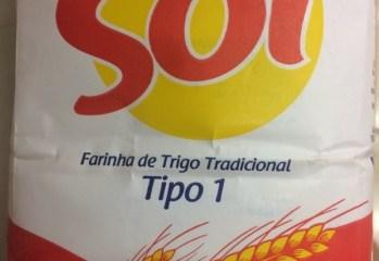 Farinha de Trigo Tradicional Sol