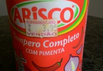 Tempero Completo Com Pimenta Arisco