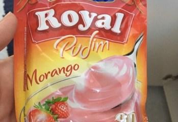 Pudim Morango Royal