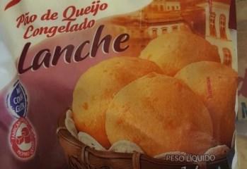 Pão de Queijo Congelado Lanche Forno de Minas