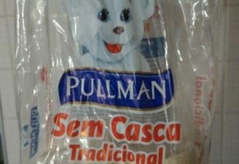 Pão Tradicional Sem Casca Pullman