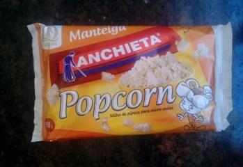 Milho de Pipoca Popcorn Manteiga Anchieta