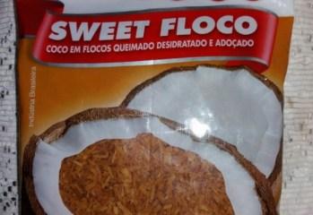 Coco em Flocos Queimado Desidratado e Adoçado Sweet Floco Sococo
