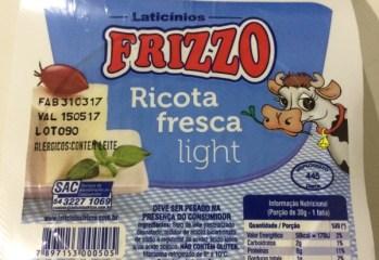 Ricota Fresca Light Frizzo