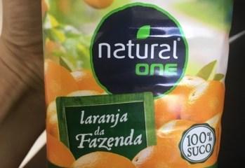 Suco de Laranja Integral Laranja da Fazenda Natural One