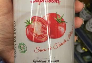 Suco de Tomate Integral Superbom