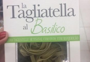 Massa Tagliatelle Artesanal Al Basilico Allemandi