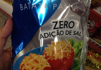 Batata Palha Zero Adicao de Sal Elma Chips