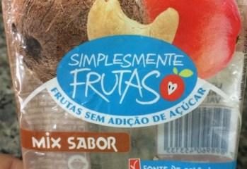 Mix Sabor Simplesmente Frutas