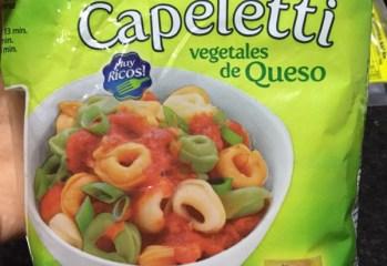 Capeletti Vegetais Recheados com Queijo Las Acacias
