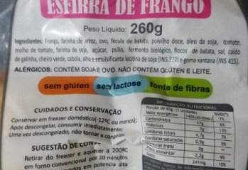 Esfirra de Frango Beladri