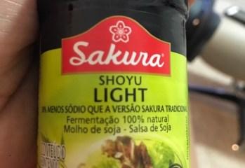 Molho de Soja Shoyo Light Sakura