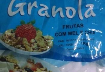 Granola Frutas Com Mel e Chia Prinat
