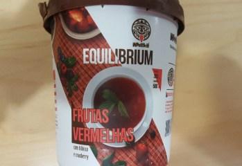 Sorvete Equilibrium Frutas Vermelhas com Hibisco e Cranberry Whaka
