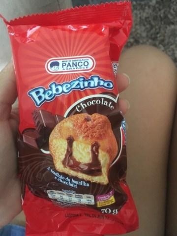 Bolo de Baunilha e Chocolate Bebezinho Panco