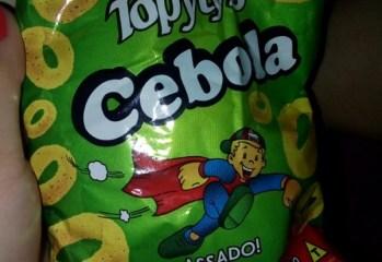 Salgadinho Cebola Topytys Pipolandia