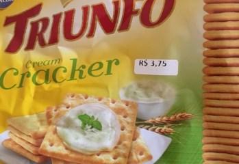 Biscoito Cream Cracker Triunfo Arcor