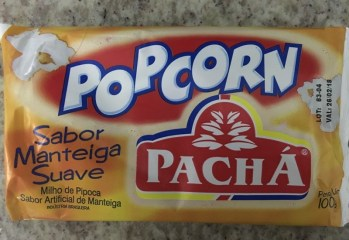 Popcorn Sabor Manteiga Suave Pacha