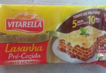 Lasanha Pré-Cozida Speciale Vitarella