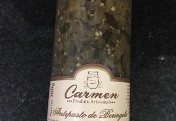 Antepasto de Beringela Carmen