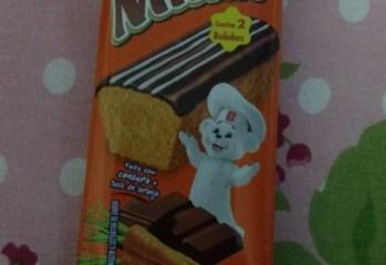 Bolinho de Cenoura com Cobertura de Chocolate Minix Pullman
