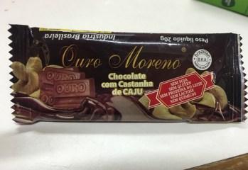 Chocolate com Castanha de Caju Ouro Moreno