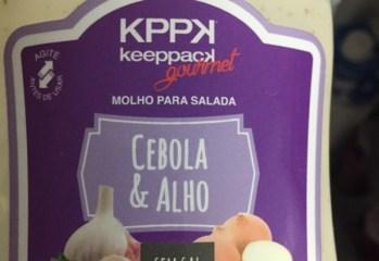 Molho para Salada Cebola & Alho Keeppack Gourmet KPPK