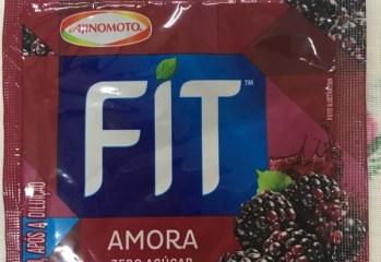 Refresco em Pó Amora Zero Açúcar Fit Ajinomoto