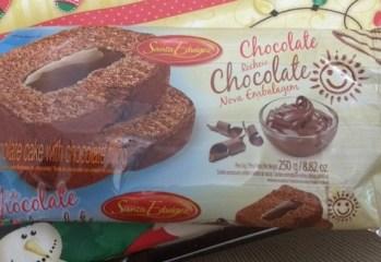Bolo de Chocolate Recheio Chocolate Santa Edwiges