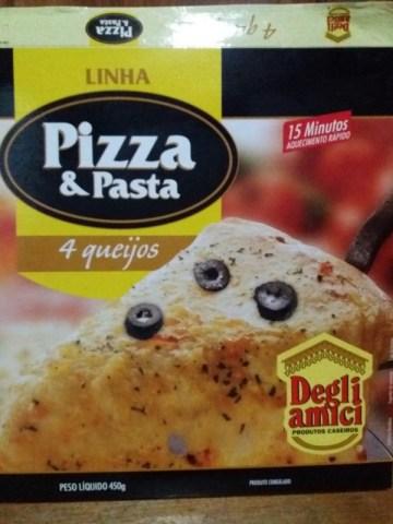 Pizza 4 Queijos Linha Pizza & Pasta Degli Amici