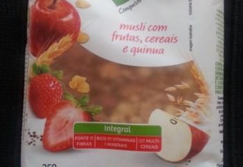 Musli Integral com Frutas, Cereais e Quinua Taeq
