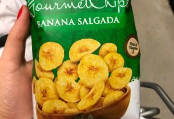 Gourmet Chips Banana Salgada Teva