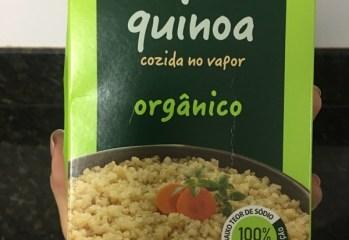 Quinoa Cozida no Vapor Orgânico Vapza