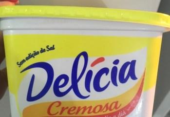 Margarina Cremosa Sem Sal Delícia