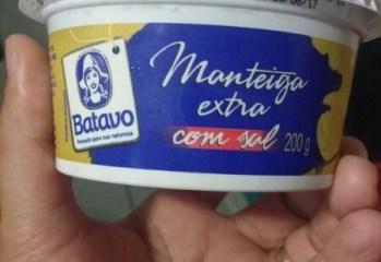 Manteiga Extra Com Sal Batavo