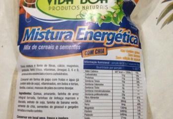Mix de Cereais e Sementes com Chia Mistura Energética Vida Boa
