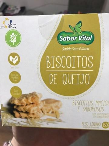 Biscoitos de Queijo Sabor Vital