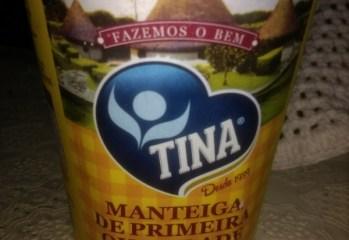 Manteiga de Primeira Qualidade Com Sal Tina